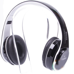 Vanguard Led Colour Changing St 424 Bluetooth Headphone White